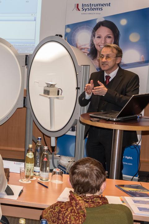 Seminar Licht und Displaymesstechnik
